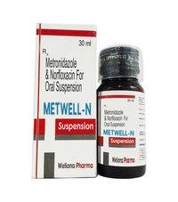 Norfloxacin + Metronidazole Suspension