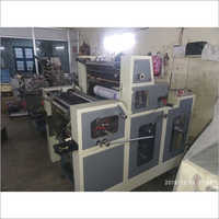 D Cut Non Woven Bag Double Color Offset Printing Machine