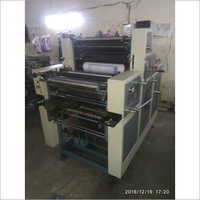 3 HP Non Woven Double Color Offset Printing Machine