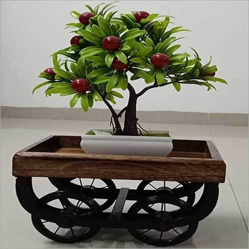 Wooden Decorative Trolley Platter