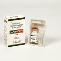 AMOXYCILLIN & POTASSIUM CLAVUNATE 1.2 G INJECTION (AMOXYCLAV)