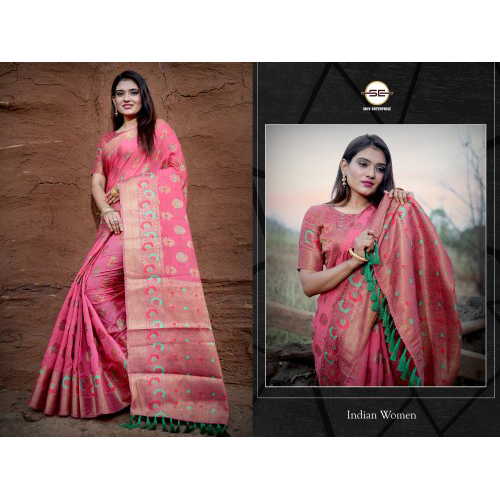 Ladies Party Wear Embroidery Saree
