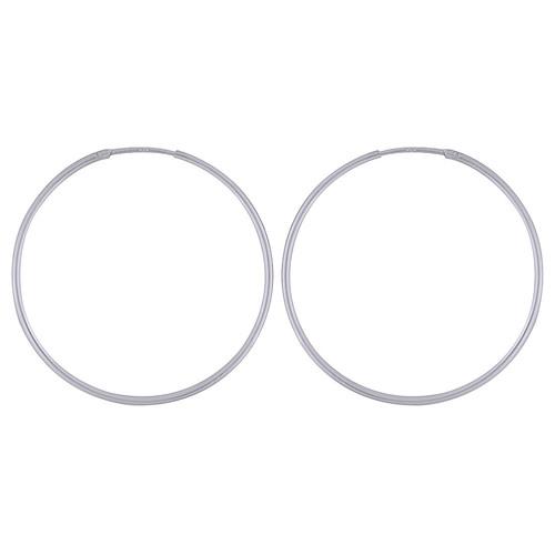 PLAIN 925 STERLING SOLID SILVER BALI EARRINGS