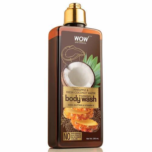 Wow Skin Science Pineapple & Fresh Coconut Water Foaming Body Wash - 250ml