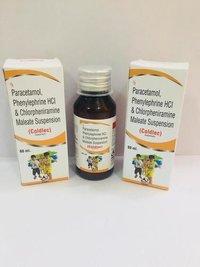 Chlorpheniramine maleate +Paracetamol +Phenylephrine Suspension