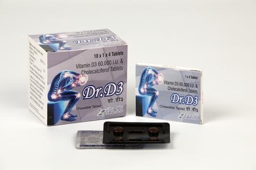 VITAMIN D3 60000 IU TABLET (DR D3)