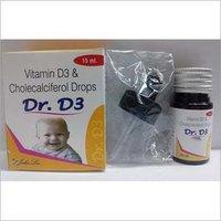 CHOLECALCIFEROL 60L IU DROP (DR D3)