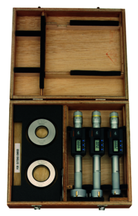 Mitutoyo Digital 3- Point Internal Micrometer Set