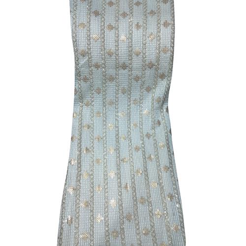 Georgette Sequin Suit Fabric