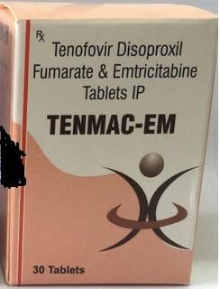 TENMAC EM Tenofovir Disoproxil Fumarate & Emtricitabine