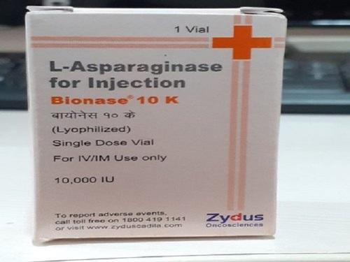 Bionase 10000IU Injection(Asparaginase (5000IU)