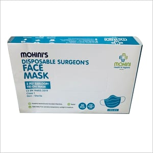 50Pcs Disposable Surgeons Face Mask