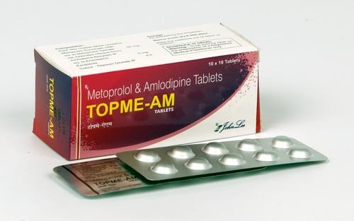 Metoprolol Succinate USP 50 MG + Amlodipine 5 M