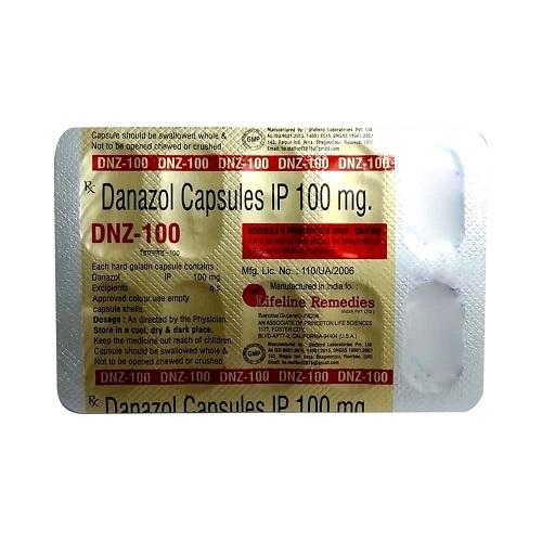 DNZ CAPSULES Danazol Capsules USP 200mg(