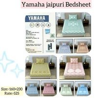 Yamaha jaipuri double bedsheet