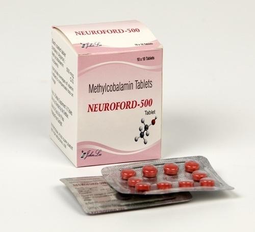 MECOBALAMIN 500 MCG TABLET (NEUROFORD)