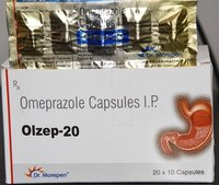OMEPRAZOLE 20 MG CAPSULE (OLZEP)