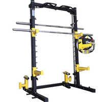 Power Rack With Smith Machine