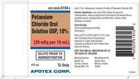 Potassium Chloride Oral Solution