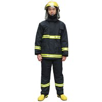 PTFE Aramid Non Woven Turn Out Gear And Bunker Gear Fire Suit