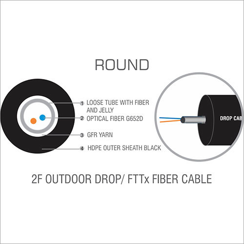 Round Drop Cable