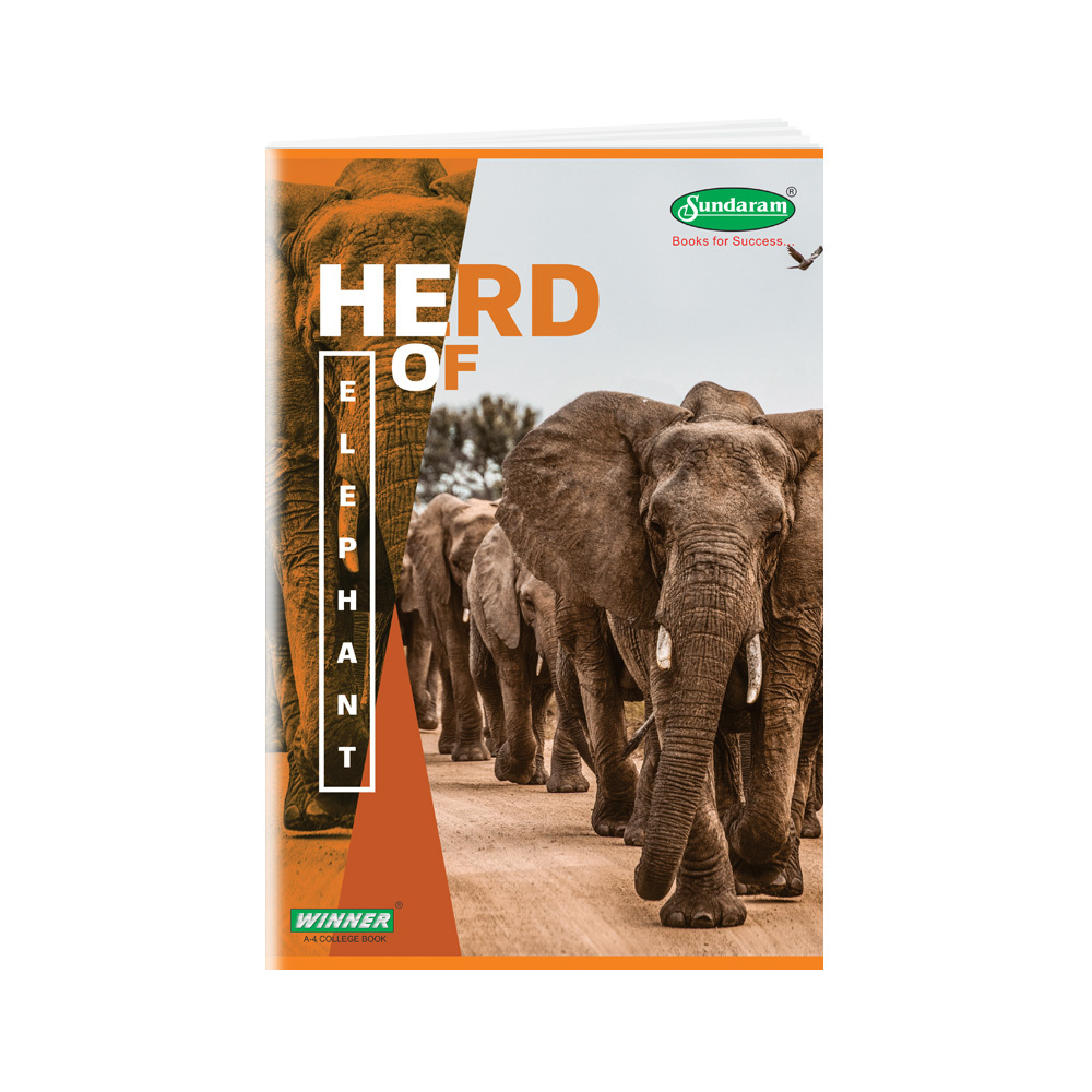 Sundaram Winner A/4 Book - 120 Pages (C-39)