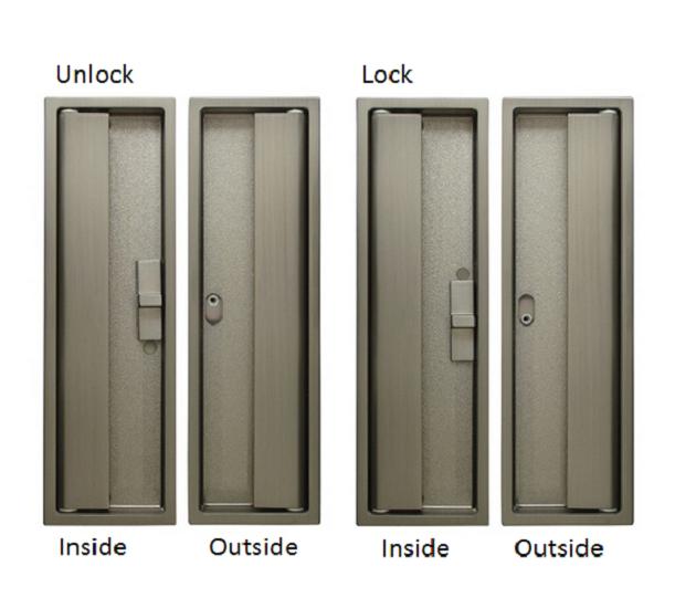 Kuriki Cl Hook Lock For Sliding Door