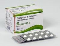 Repaglinide 2 MG + Metformin Hcl 500 MG