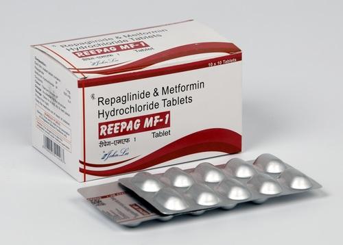 Repaglinide 1 MG + Metformin Hcl 500 MG