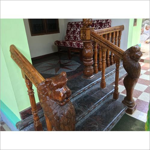 Wooden Modern  Handrail
