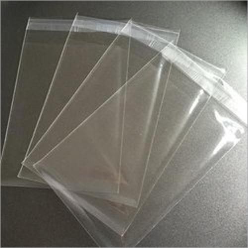 Plain Transparent Self Adhesive Plastic Bag