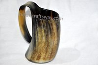 Viking natural horn mug