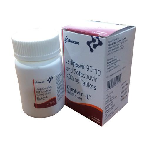 Sofosbuvir (400mg) + Velpatasvir (100mg)Cimivir-L Tablet