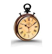 Brass Victoria Station Wall Clock