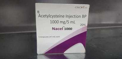 Acetylcysteine Injection Bp 1000mg/5ml