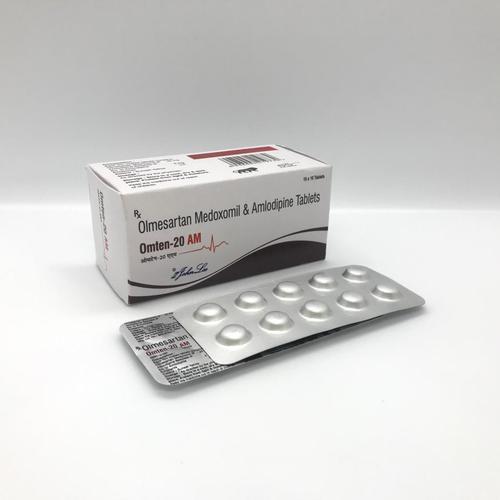 Olmesartan Medoxomil IP 20 MG + Amlodipine IP 5 MG