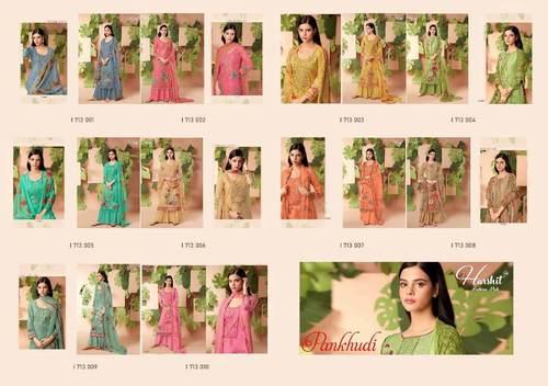 Pankhudi By Alok Suit Pure Cotton Digital Print Dress Materials Set