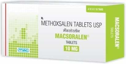 Methoxsalen Tablets Usp 10 Mg