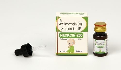 AZITHROMYCIN 100MG DROP (NECKCIN 15ML)