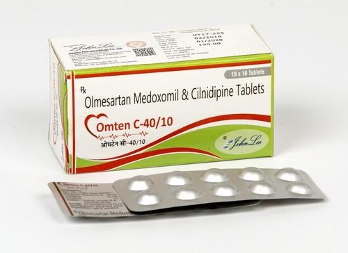 Olmesartan Medoxomil 40 MG + Cilnidipine 10 MG