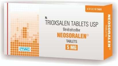 Trioxsalen Tablets Usp 5 Mg
