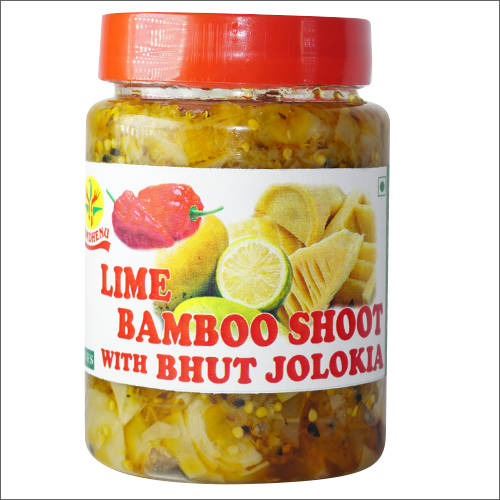 Lime Bamboo With Bhut Chilly Pickle