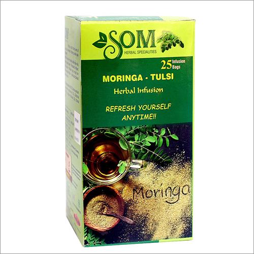 Moringa And Tulsi Herbal Infusion Tea Sachets