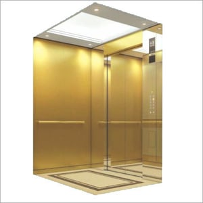 Golden Finsh Hairline Lift Cabin