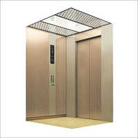 Copper Finish Designer Lift Cabin