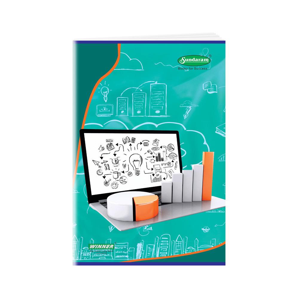 Sundaram Winner Big Jumbo Long Book (H.B.) - 136 Pages (L-12)