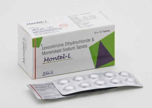 Montelukast sodium IP 10 MG + Levocetirizine 5 MG