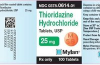 Thioridazine Hcl Tablets