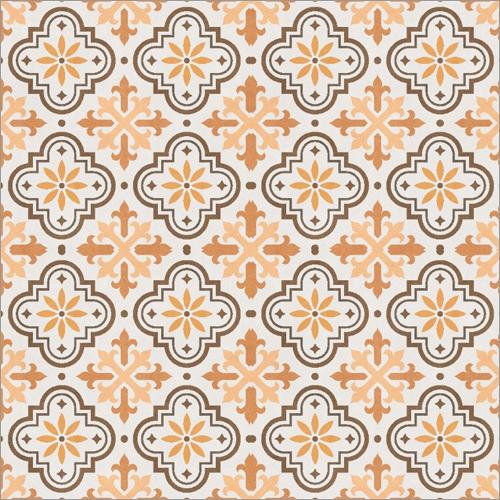 Digital Punch Ceramic Floor Tile