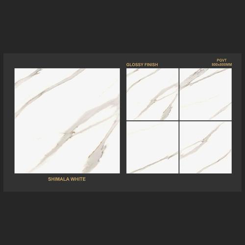 Shimla White- Glossy Finish